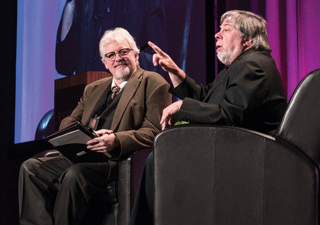 Steve Wozniak inspires Auggies