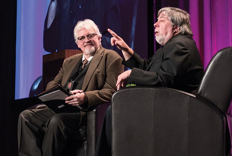 Steve Wozniak and Phil Adamo