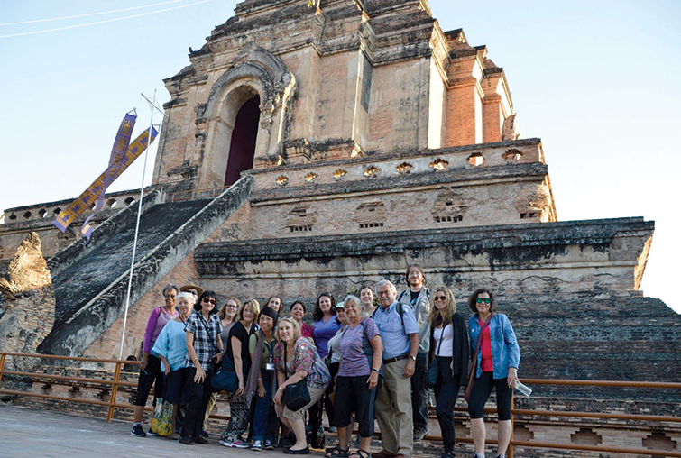 Augsburg tour group in Thailand