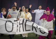 Interfaith Touchdown