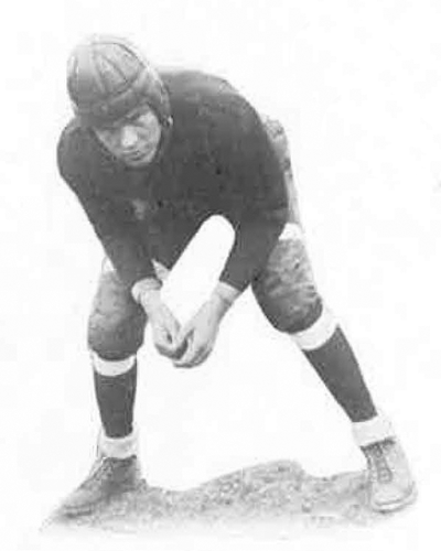Archive photot of football player from 1930