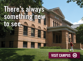 Visit Campus: There's always something new to see