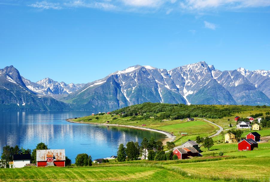 Landscape photo taken in Norway