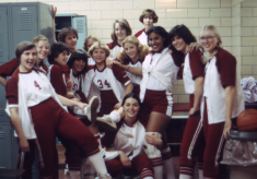 Women's athletics archive nears the finish line