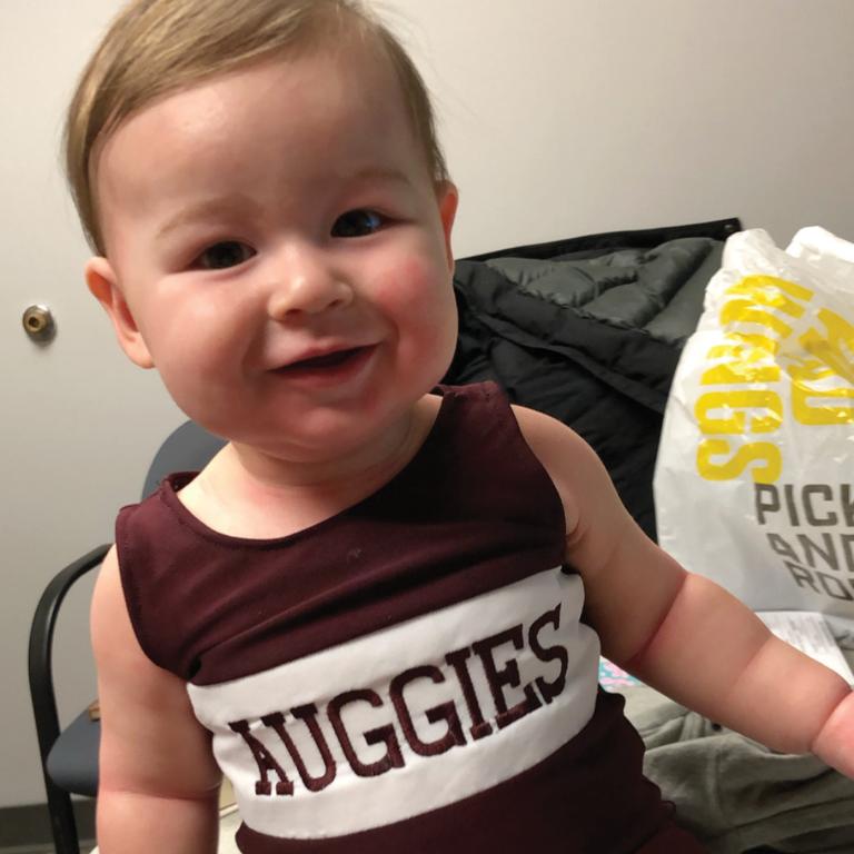 Enrico Baby in Auggie wrestling singlet