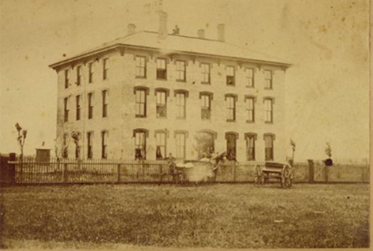 Old campus building