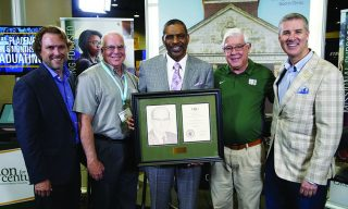 K. Marshall Williams Sr. '78 received the Herschel H. Hobbs Award