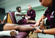 Upgraded training room boosts athletes' efficiency