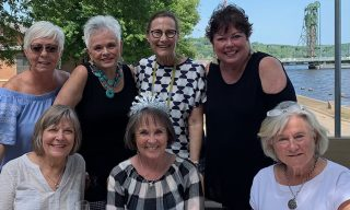 A group of Auggies who celebrate life milestones together