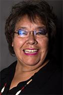 Head shot of Marlene Whiterabbit Helgemo