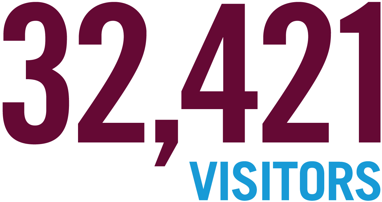 32,421 Visitors