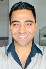 Headshot of Navid Amini '19 MBA