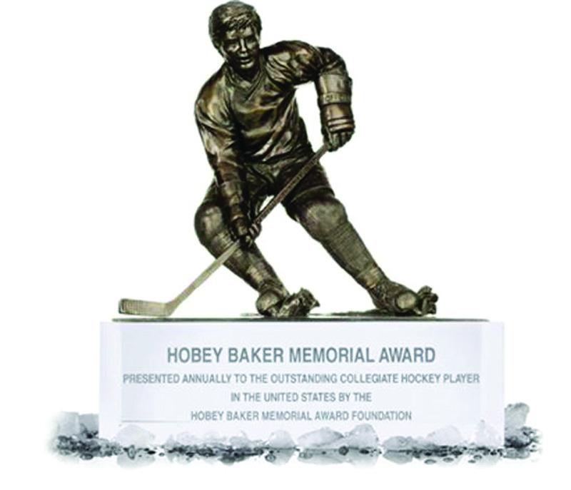 Image of the Hobery Baker Memorial Award trophy