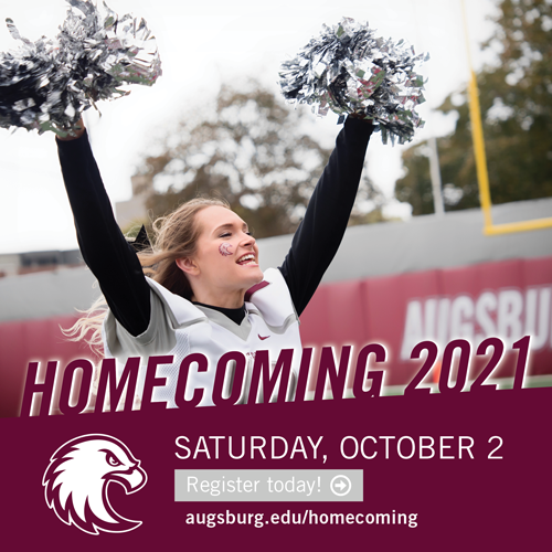 Homecoming 2021 Saturday, October 2. Register today!
