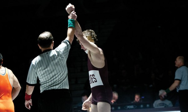 Augsburg Alumni wresting reunion celebrates the 5s