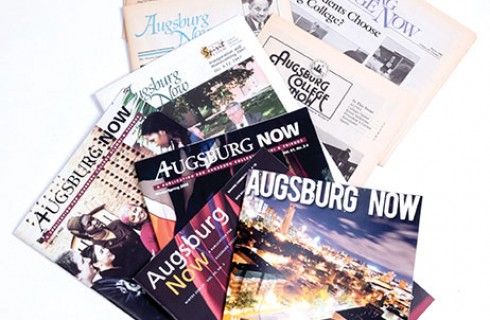 Augsburg Now to remain name of College magazine