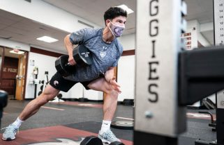 Stay the course: Off-and-on sports seasons prove Auggie student-athletes' resilience