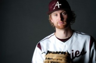 Auggies on the field — Paul Hallgren '13