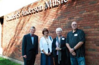 Augsburg honors President Emeritus Charles S. Anderson