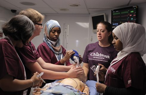 Metro Scrubs program introduces high school students to health science careers