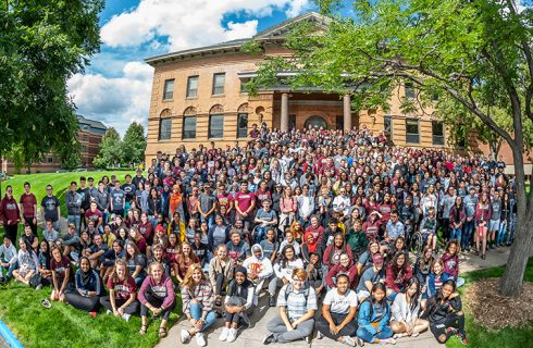 Augsburg enrolls historic first-year class
