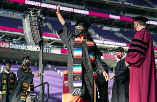 Augsburg celebrates graduates with virtual and in-person commencement ceremonies