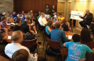 Minn. Senate Higher Education Committee visits campus