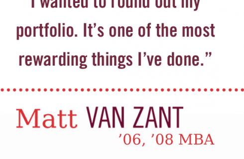 Matt Van Zant '08
