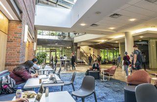 Oren Gateway Center lobby renovation provides aesthetic convenience