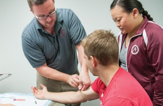 Alumni assist students on their path to physician assistant career