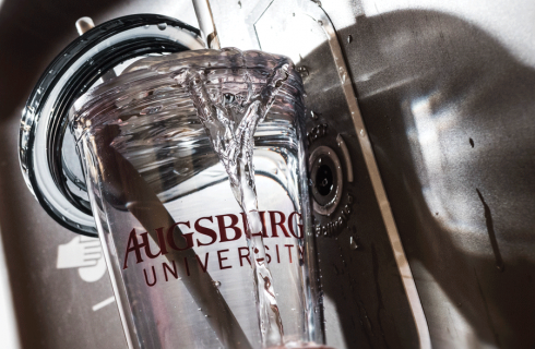 Augsburg launches  #LoveLocalWater Initiative