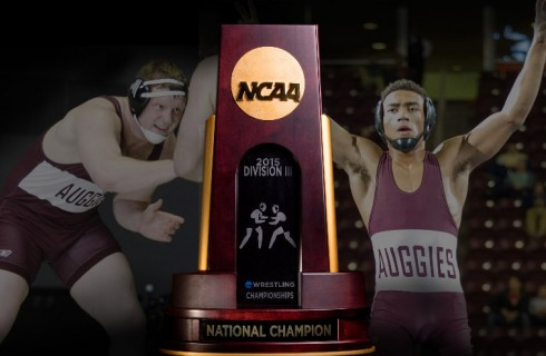 Auggies win 12th national wrestling title