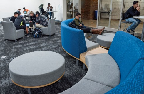 Student Lounge shines after renovation