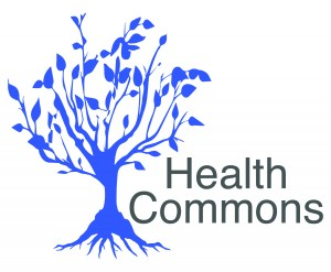 Augsburg Central Health Commons Blue Tree Logo