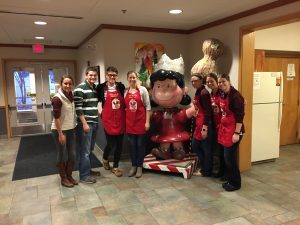 group at Ronald McDonald House