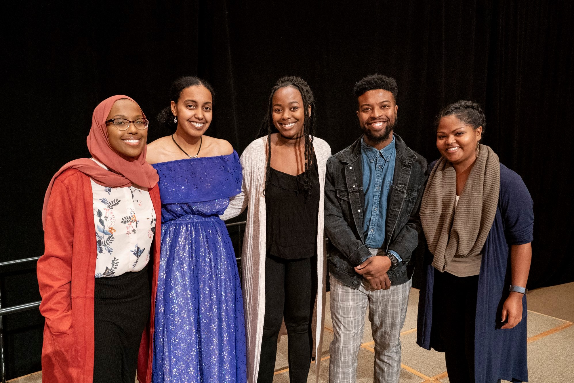 Anita Gay Hawthorne scholars at the 2019 MSS Scholarship Recognition Dinner