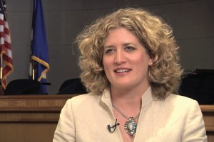 Heather Johnston, class of 1992, city manager for the City of Burnsville.