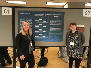 2016 Midwestern Psychological Association conference with Katie Burger '16