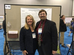 2016 American Psychological Association convention with Bruce Clark '16