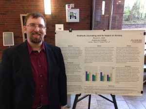 Bruce Clark at the Midwest Undergraduate Research Conference