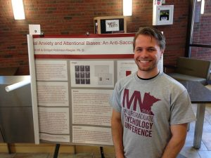 Jake Kraft at the Midwest Undergraduate Research Conference