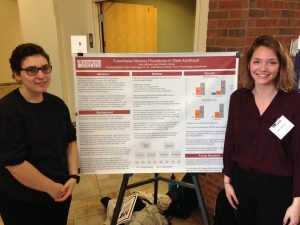 Preston Krenz & Julie Johnson  at the Midwest Undergraduate Research Conference