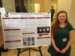 Casey Regnier  at the Midwest Undergraduate Research Conference