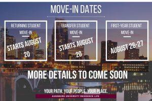 Move-in dates