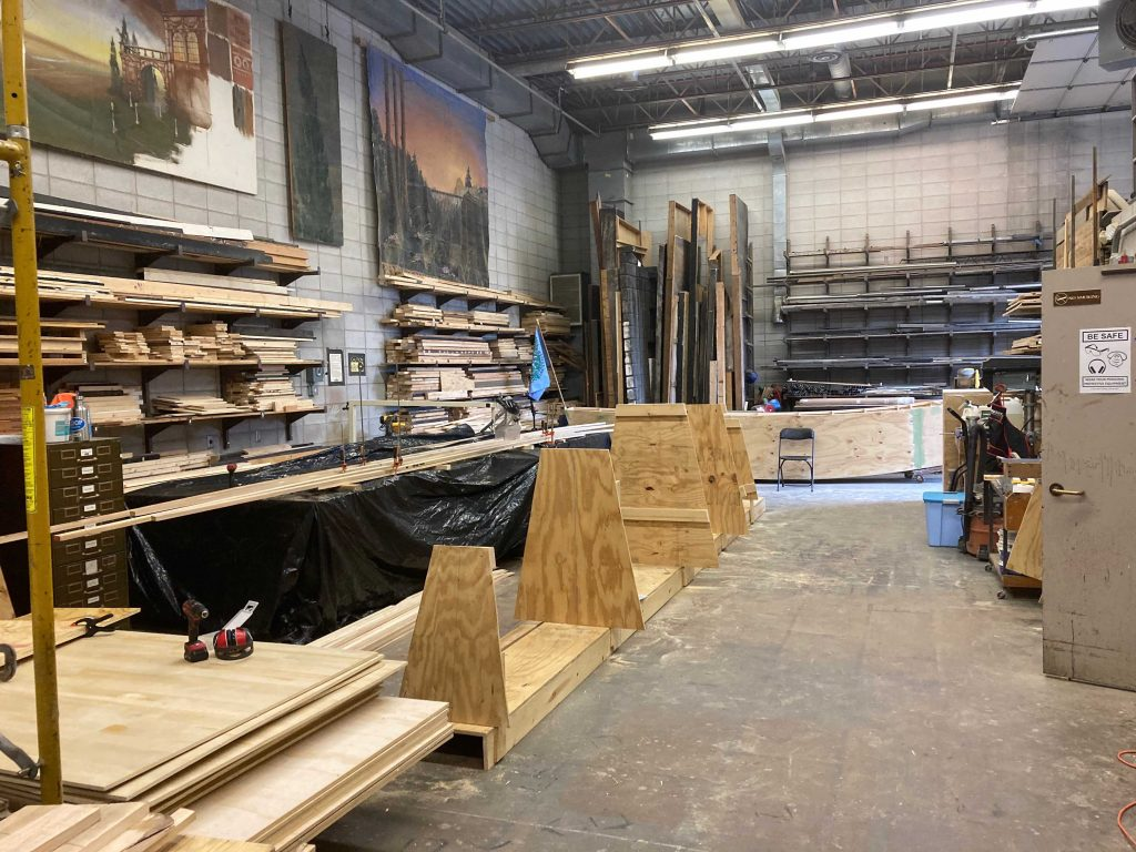 The luxurious new shop space!