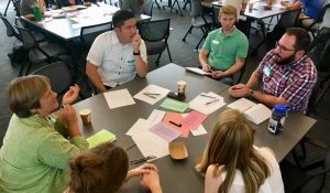 Innovation Coach Tim Timothy Thao visits with Partner Congregations Pilgrim Lutheran Church, St. Paul and University Lutheran Church of Hope, Minneapolis