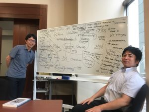 Japanese students power mapping