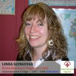 """""""Augsburg er en veldig bra skole med gode og relevante tag. Du får god oppfolging av lærene, mange gode venner og en larerik opplevelser av en annen kultur."""" -- Linda Slyngstad"""