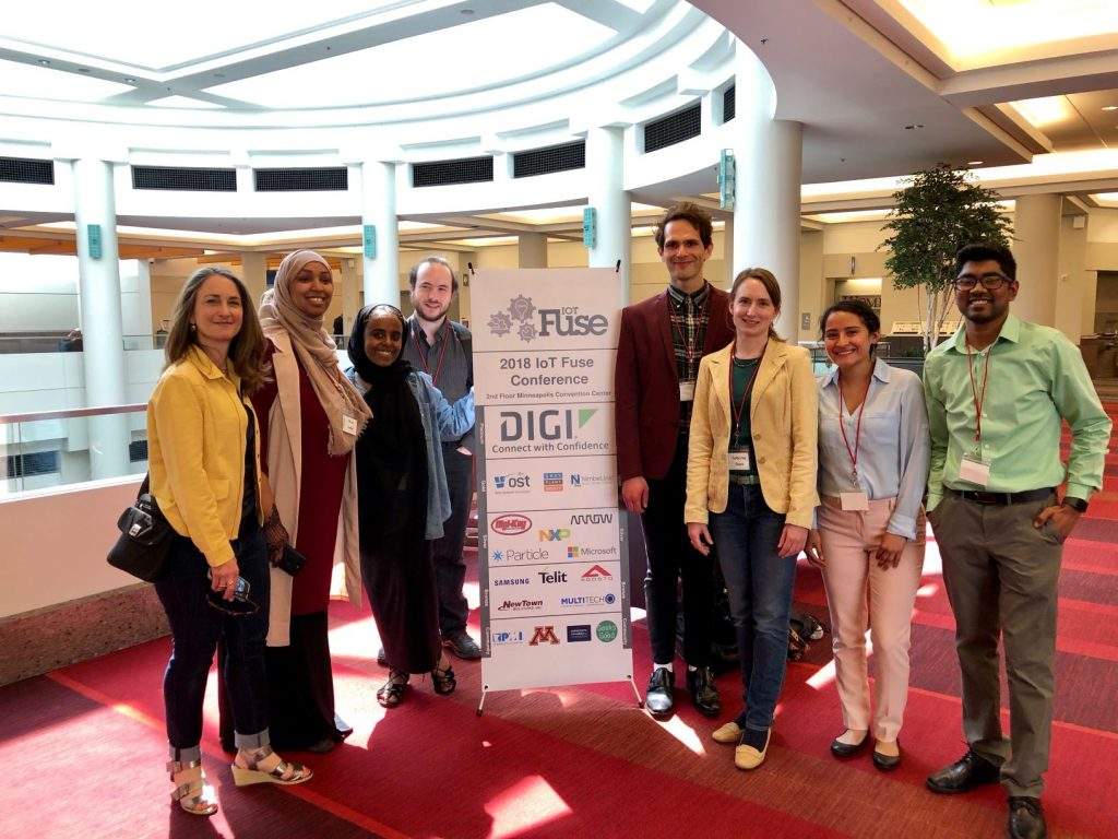 Students and STEM Programs staff attend IoT Fuse 2018.