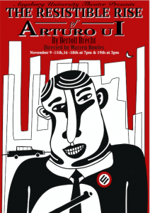 Promotional poster of Arturo UI